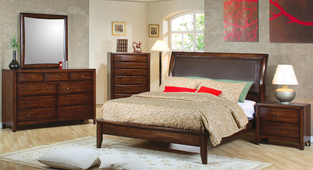 Coaster Hillary Platform Bedroom Set