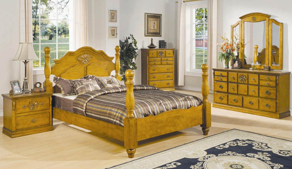 Coaster Brooke Panel Bedroom Set