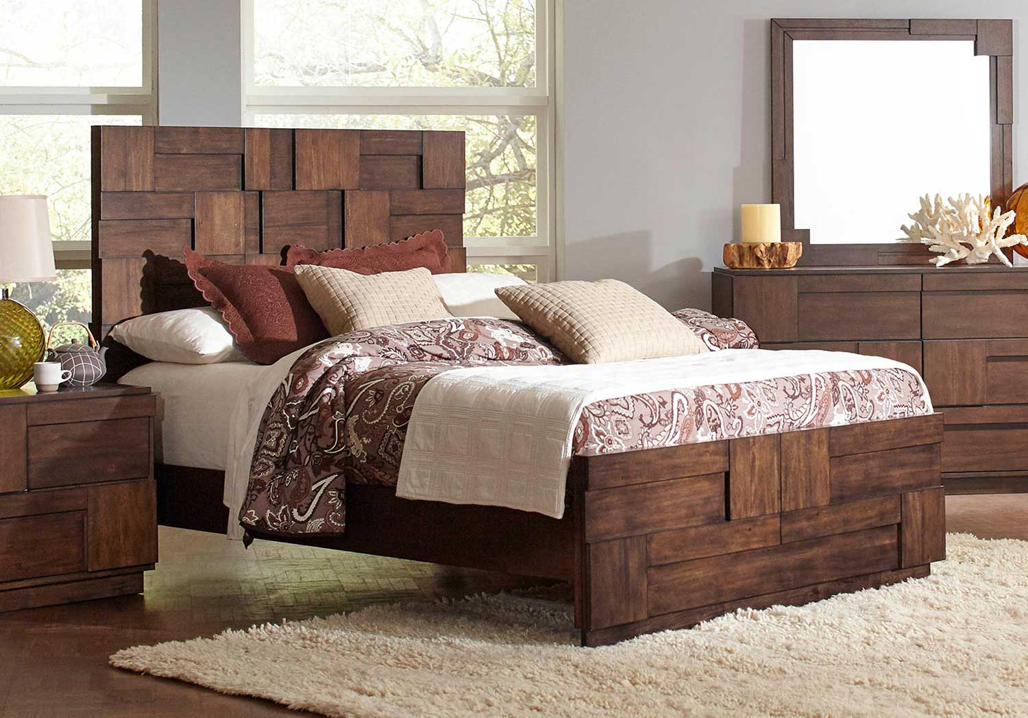 Coaster Gallagher Bed - Golden Brown