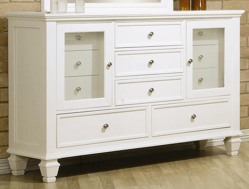 Coaster Sandy Beach Light 11 Drawer Dresser 201303