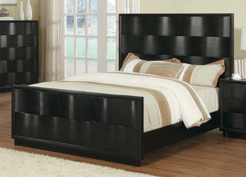 Coaster Wave Panel Bed