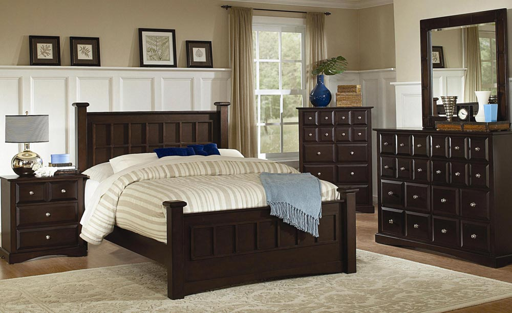 Coaster Harbor Panel Bedroom Set
