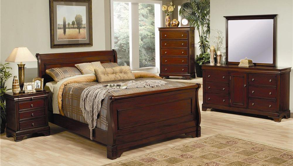 coaster versailles sleigh bedroom set 201481 bed set