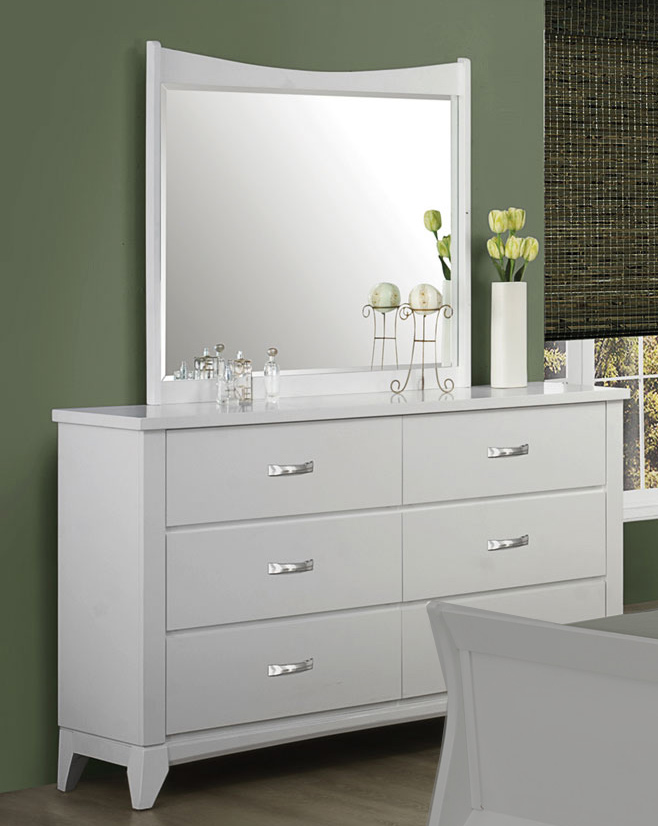 Coaster Eleanor Mirror - White