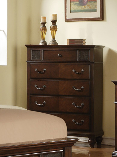 Coaster Sidney Chest - Dark Cherry