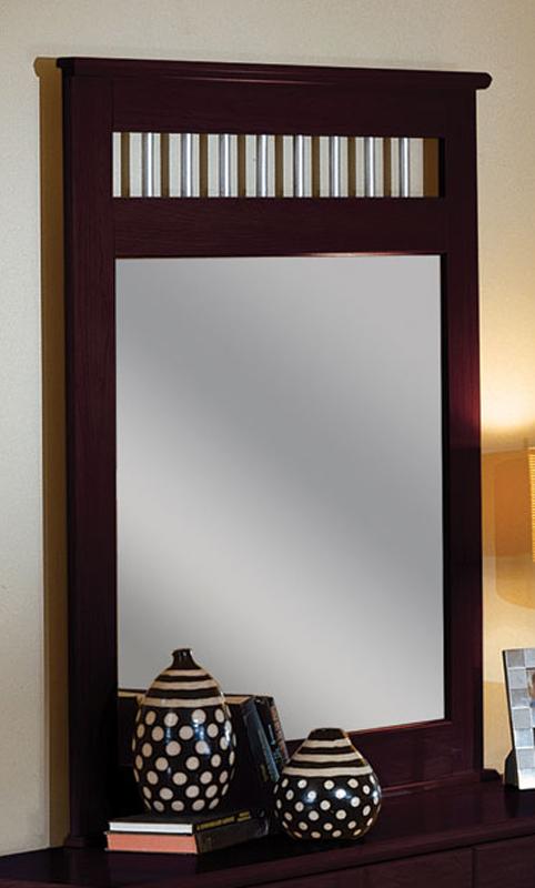 Coaster Nash Mirror - Cappuccino
