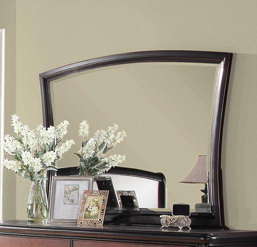 Coaster Josephina Mirror - Cherry/Mocha