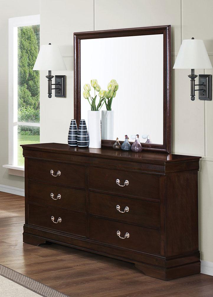 Coaster Louis Philippe Dresser - Cappuccino