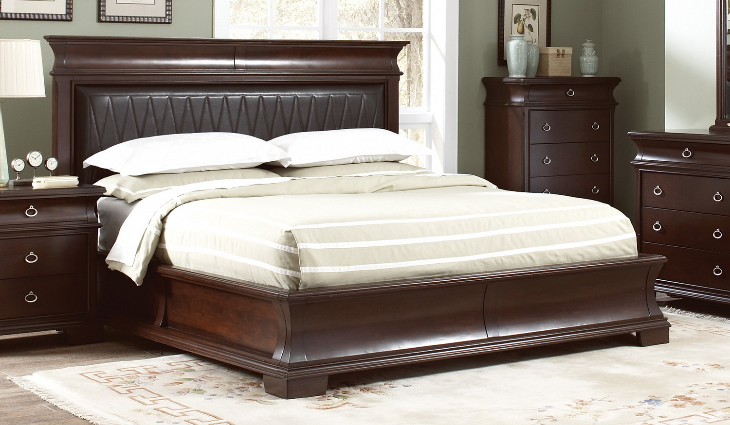 Coaster Kurtis Bed - Walnut