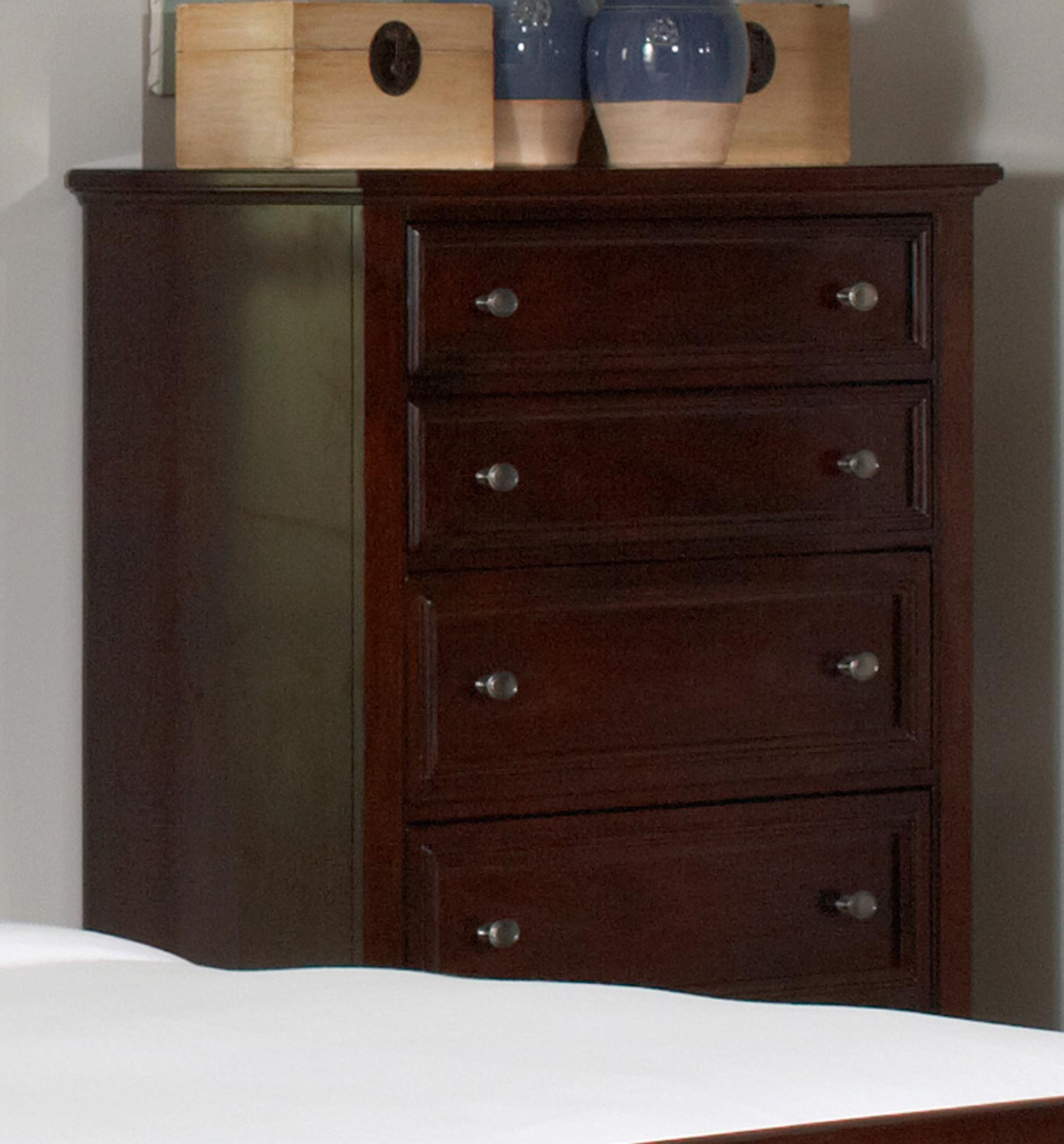 Coaster Findley Chest - Dark Cherry