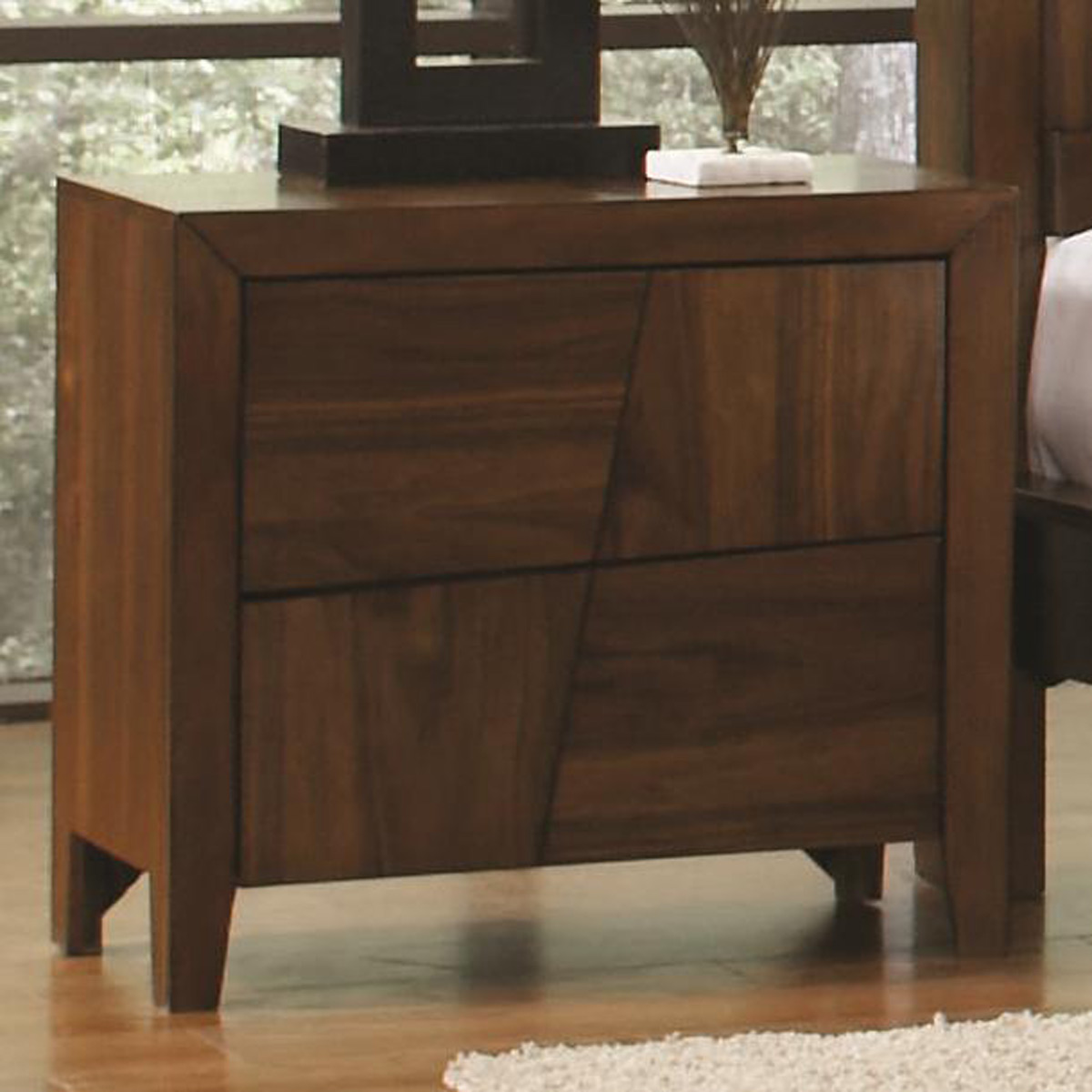 Coaster Joyce Night Stand - Walnut