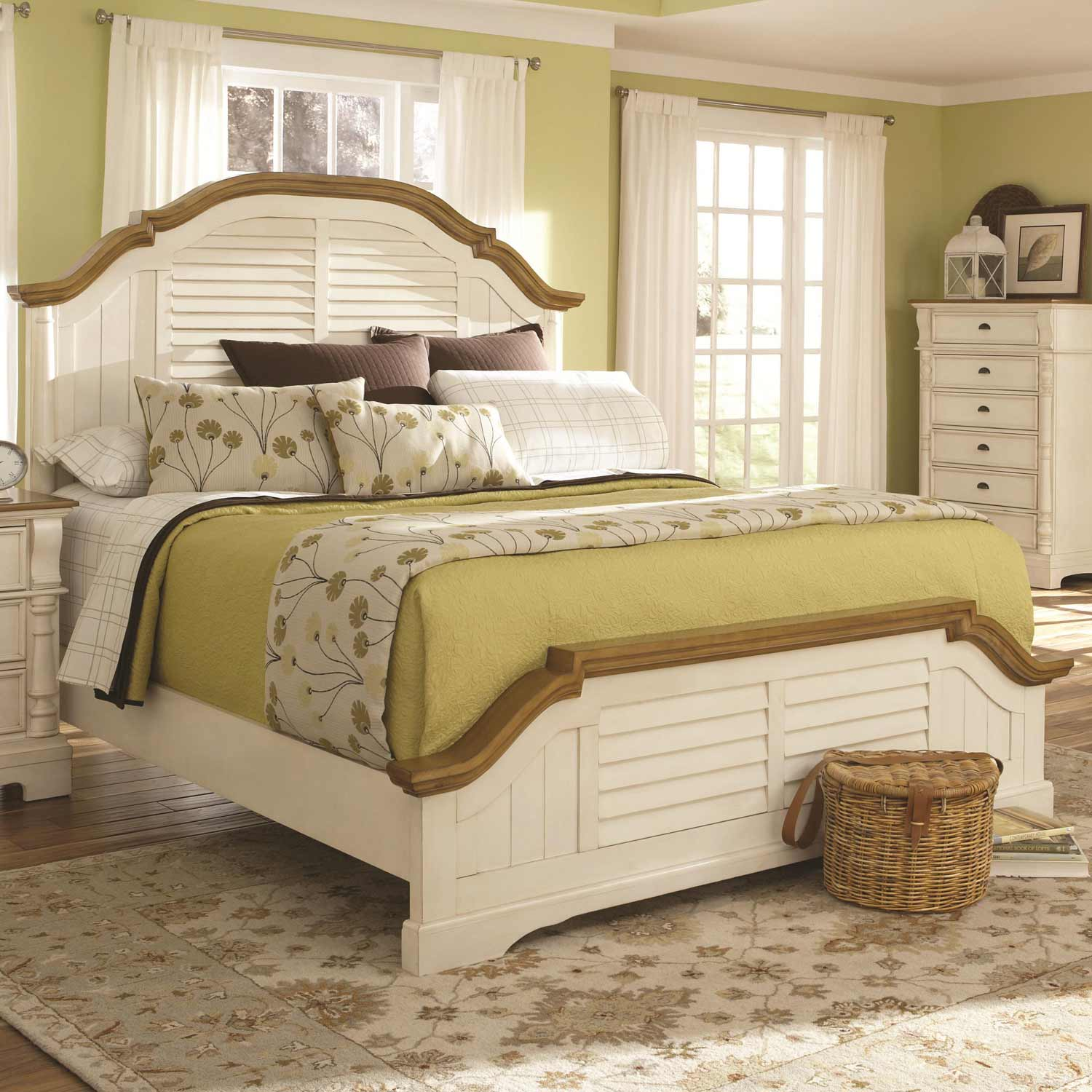 Coaster Oleta Bed - Buttermilk/Brown