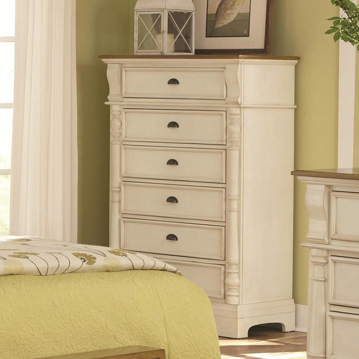 Coaster Oleta Chest - Buttermilk/Brown