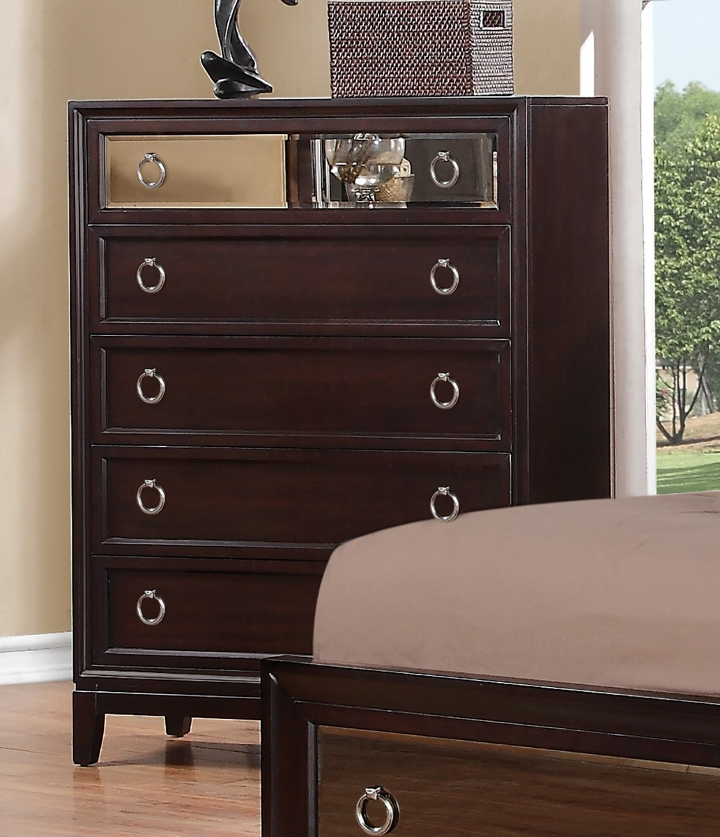 Coaster Williams Chest - Cherry