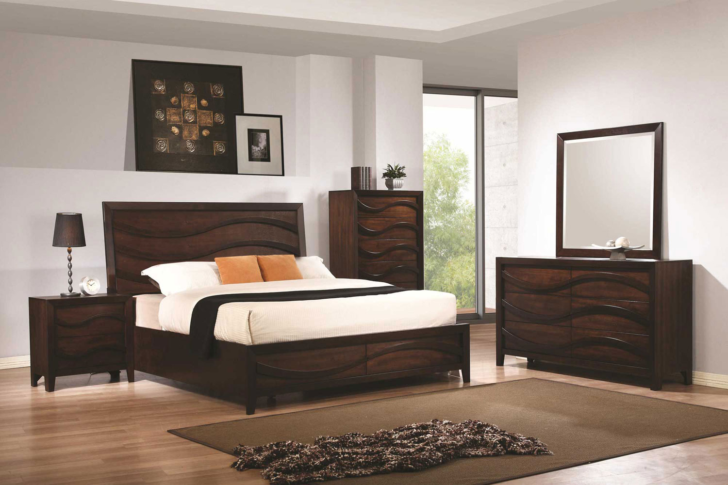 Coaster Loncar Bedroom Collection - Java Oak