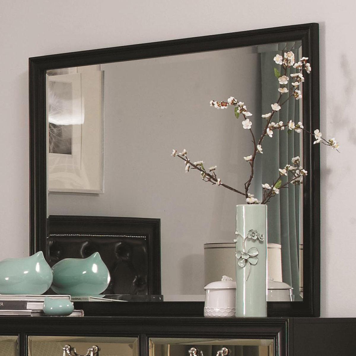 Coaster Devine Mirror - Black