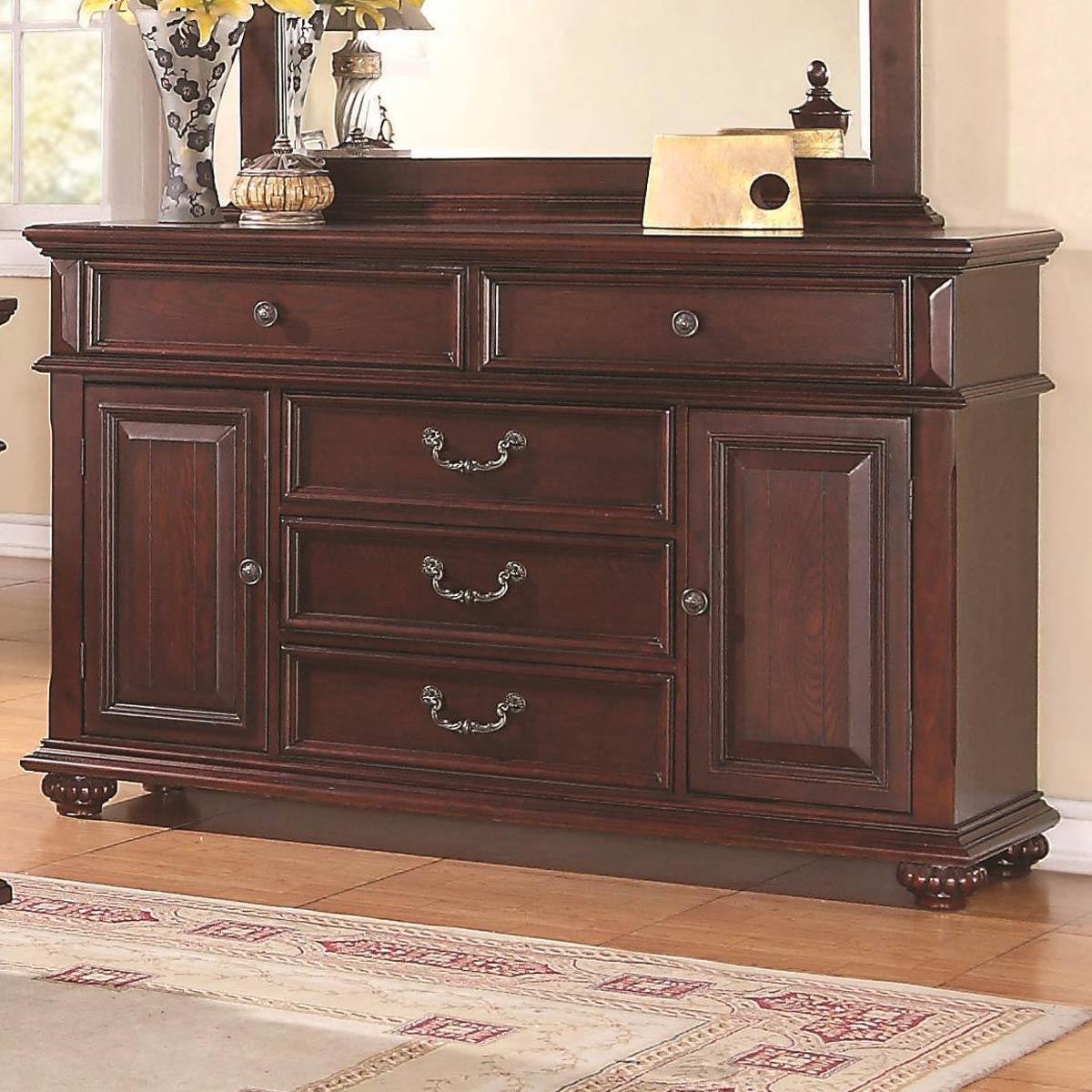 Coaster Kessner Dresser - Cherry 203173