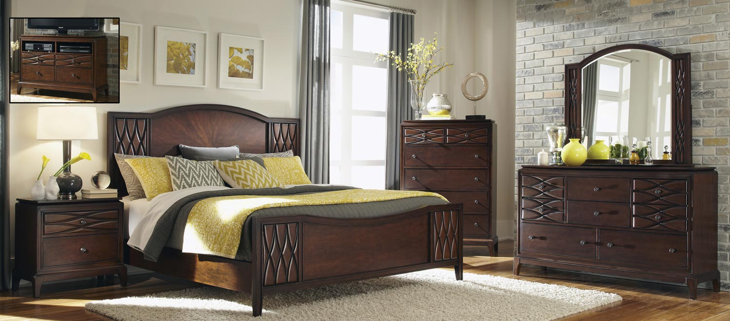 Coaster Salisbury Bedroom Set - Cherry
