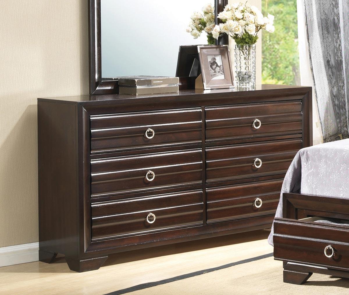 Coaster Bryce Dresser - Cappuccino