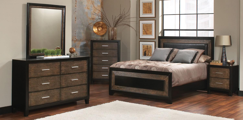 Coaster Landon Bedroom Set - Black