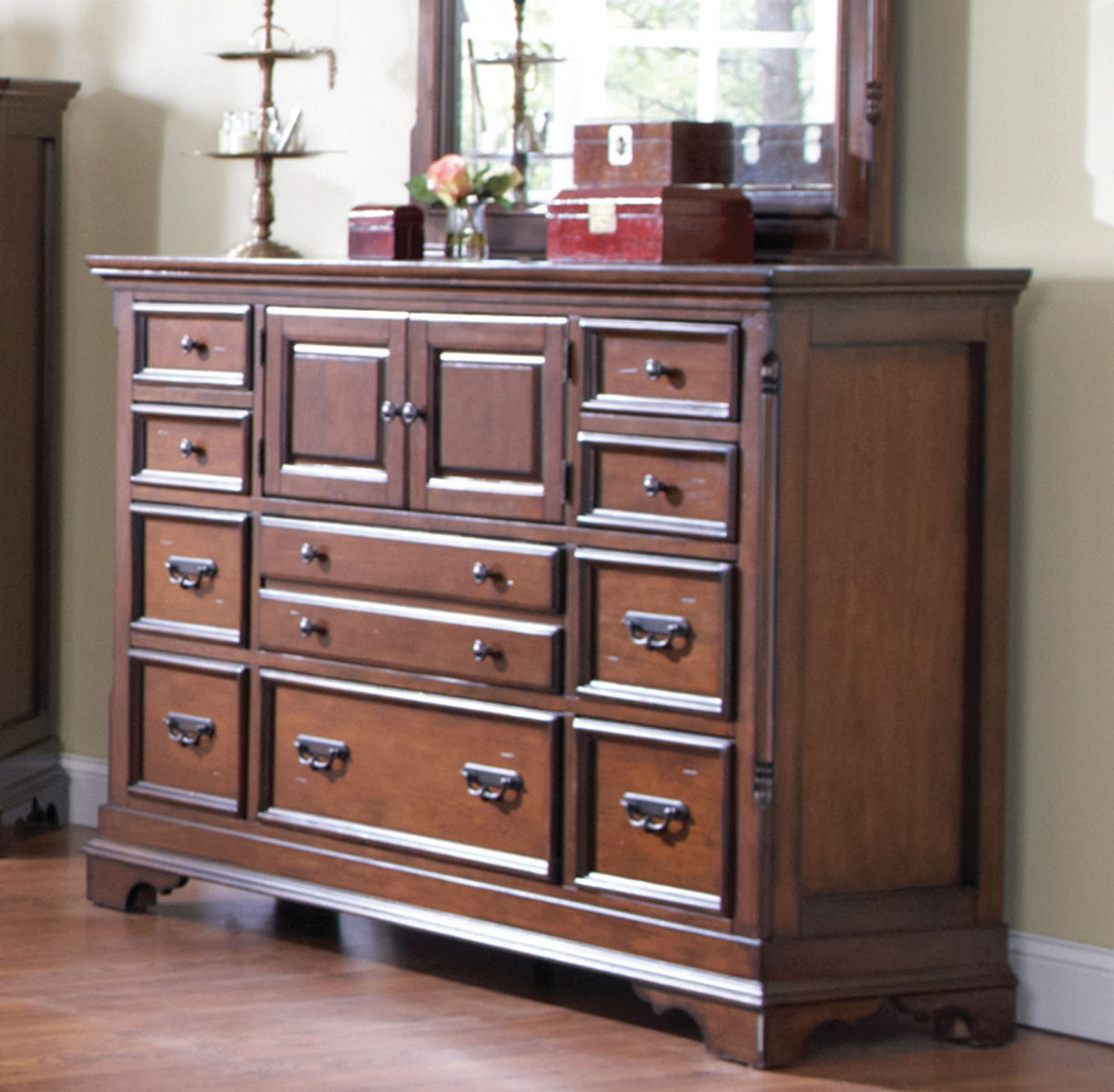 Coaster Savannah Dresser - Cherry