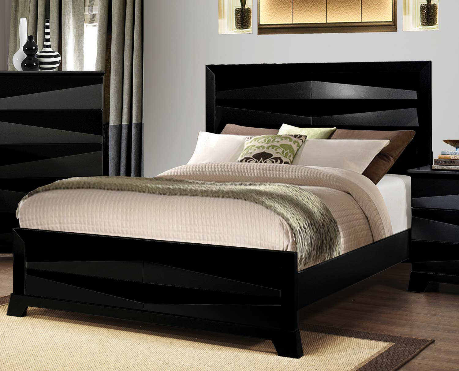 Coaster Karolina Bed - Black