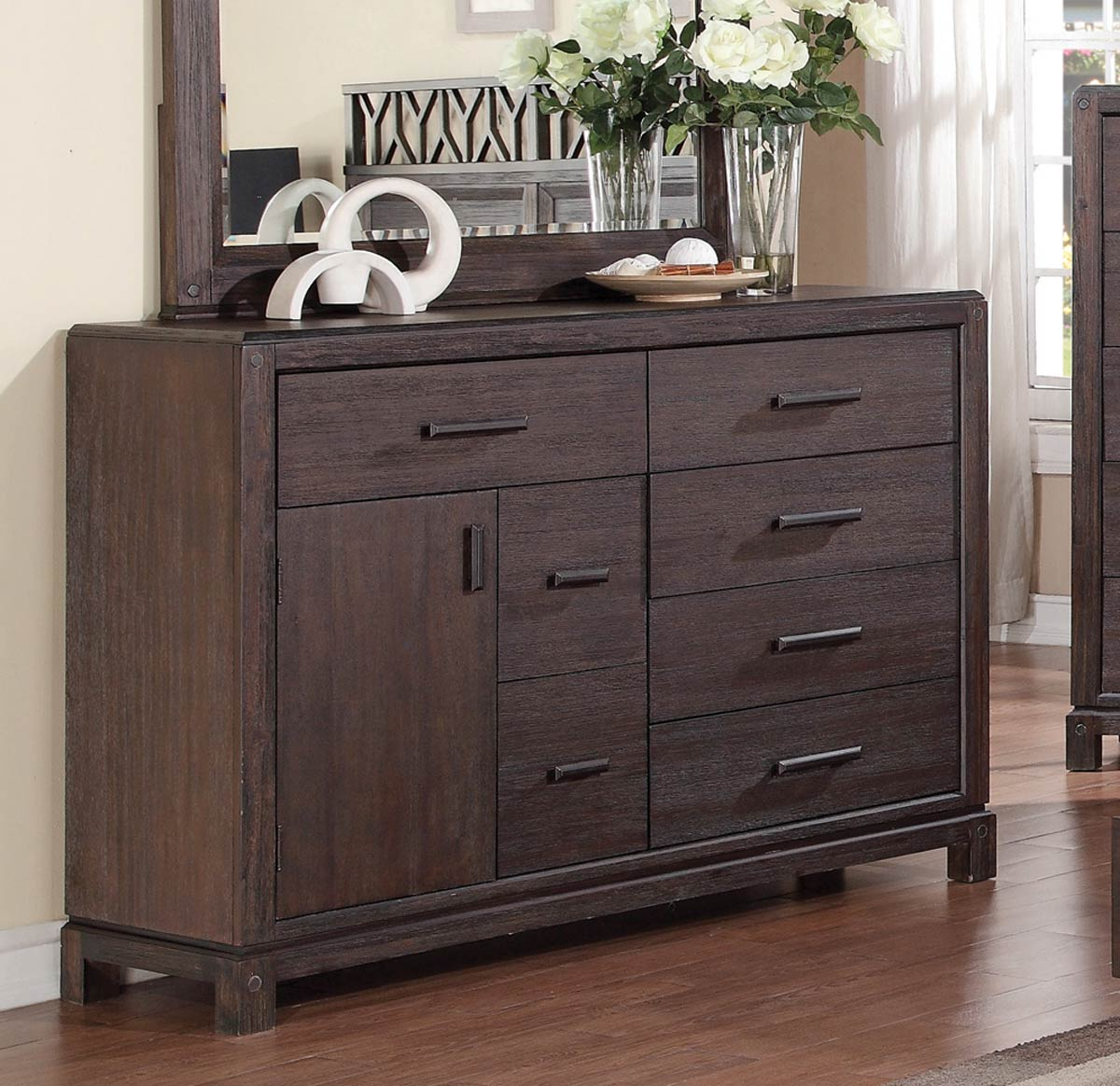 Coaster Grayson Dresser - Dark Coffee