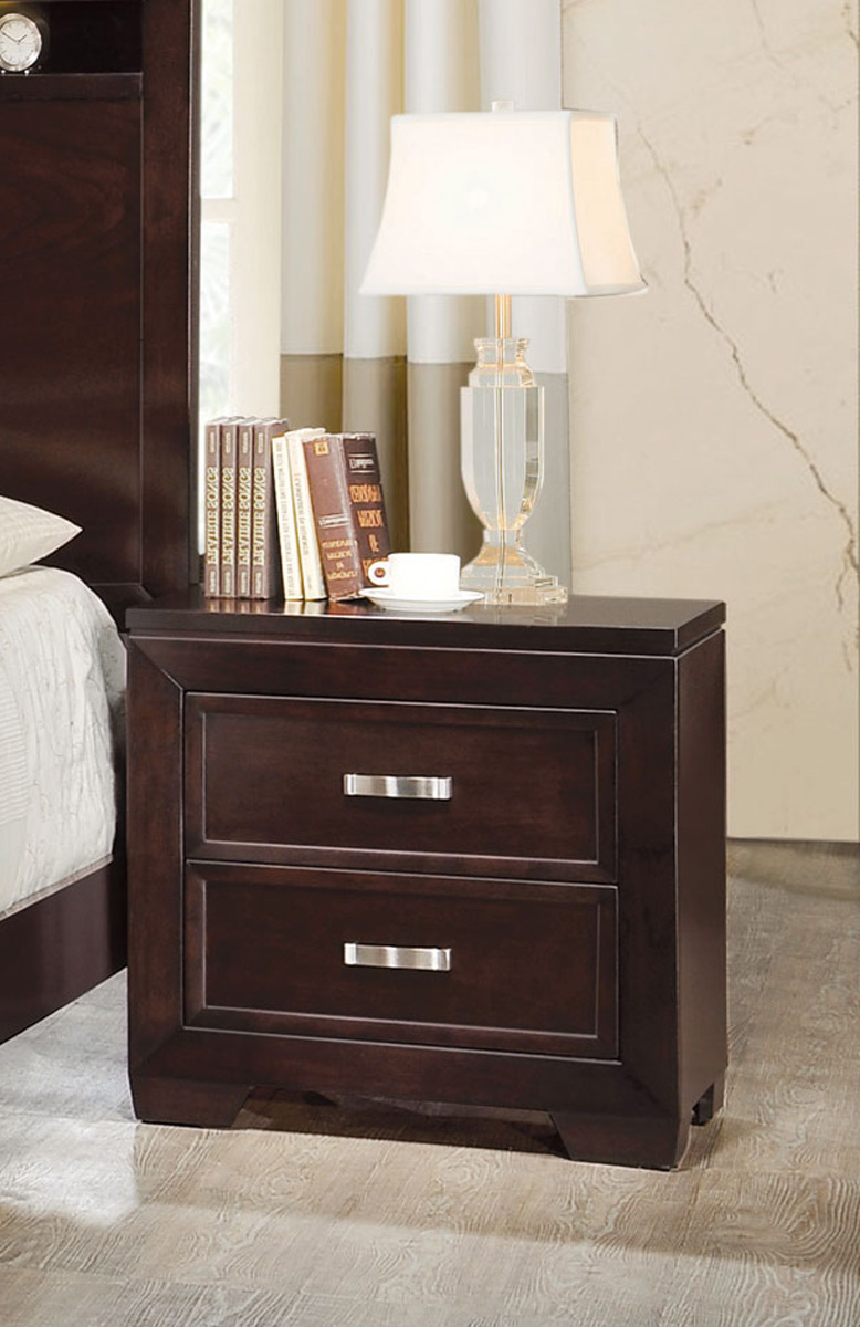 Coaster Solano Night stand - Cappuccino