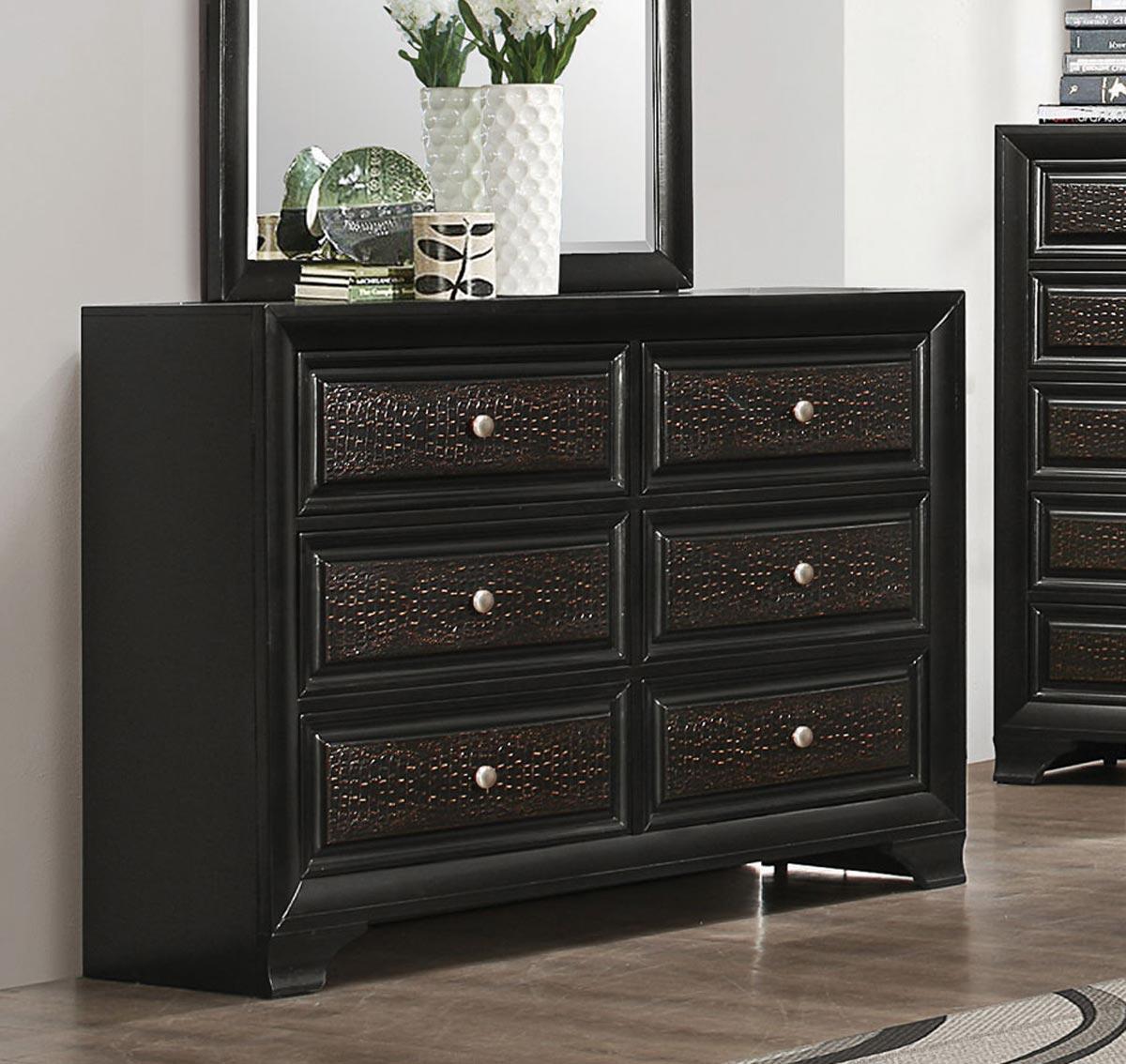 Coaster Delano Dresser - Rubbed Black