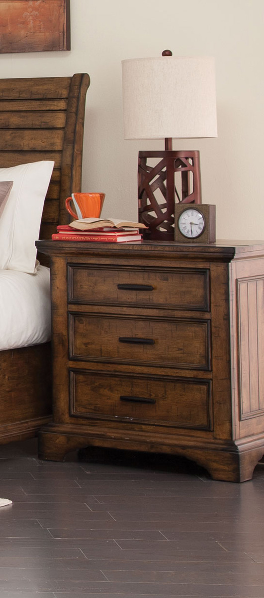 Coaster Elk Grove Night stand - Vintage Bourbon