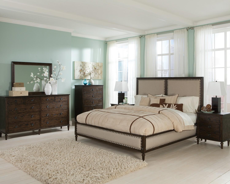Coaster Saville Bedroom Collection - Brushed Dark Oak