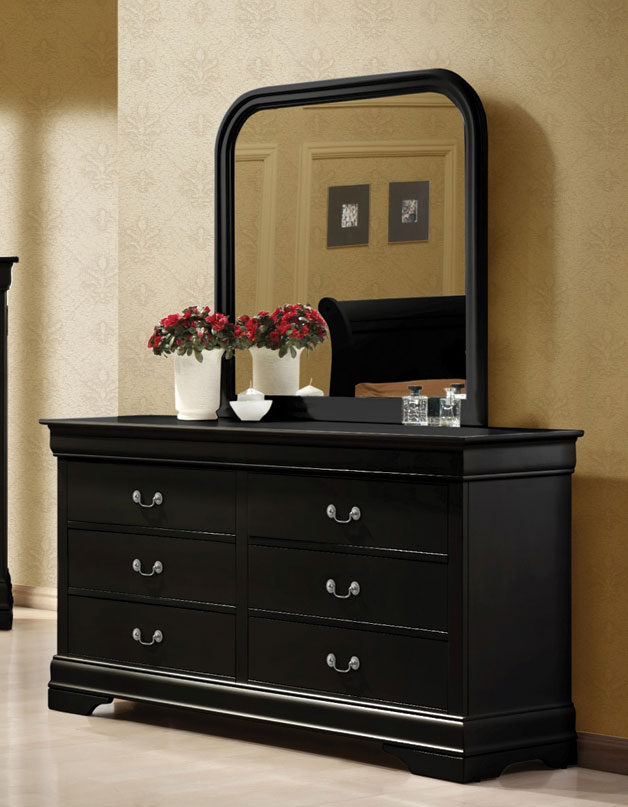 Coaster Louis Philippe Dresser - Black