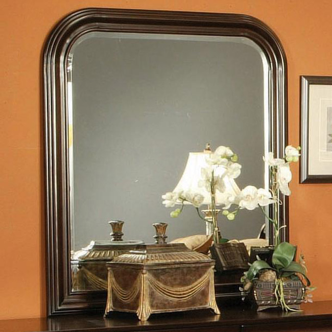 Coaster Louis Philippe Cappuccino Mirror