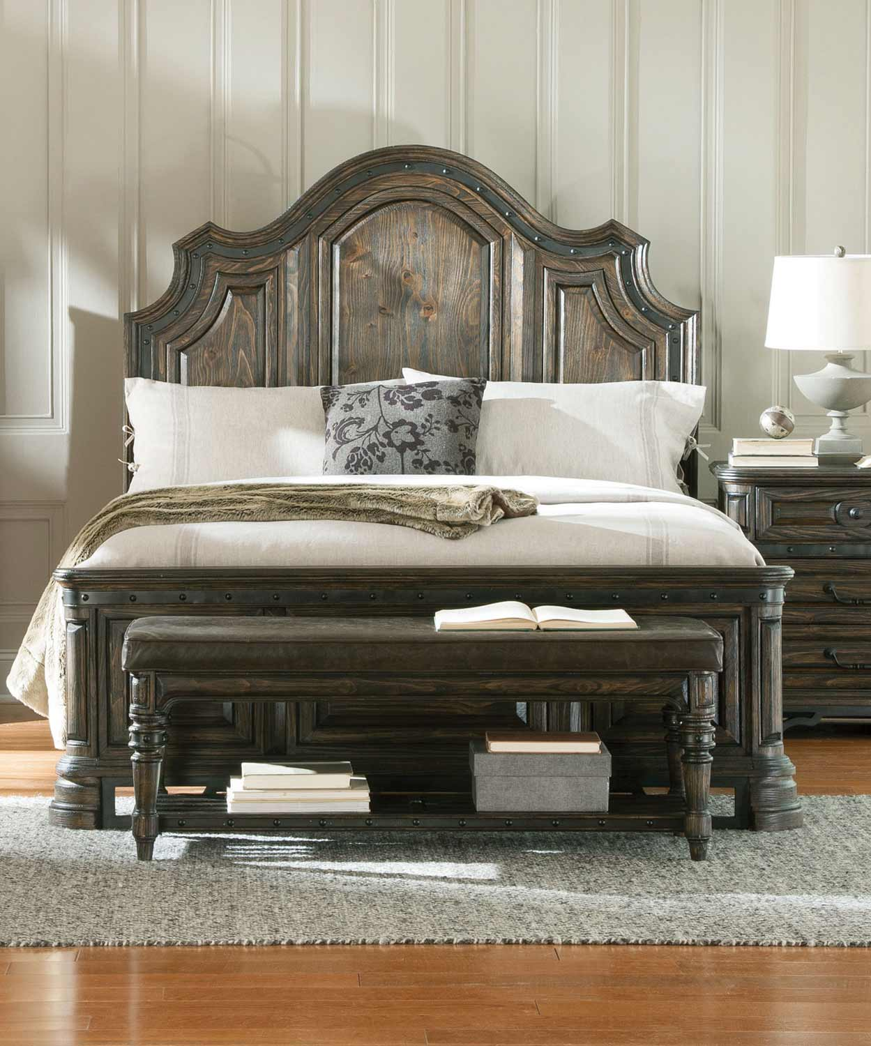 Coaster Carlsbad Bed - Dark Brown