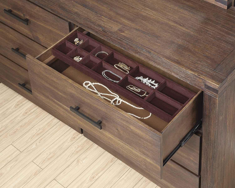 Coaster Lancashire Dresser - Cinnamon