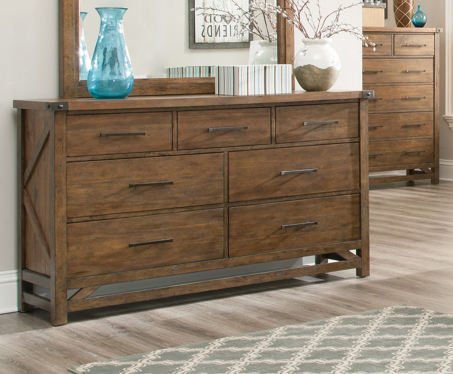 Coaster Bridgeport Dresser - Weathered Acacia
