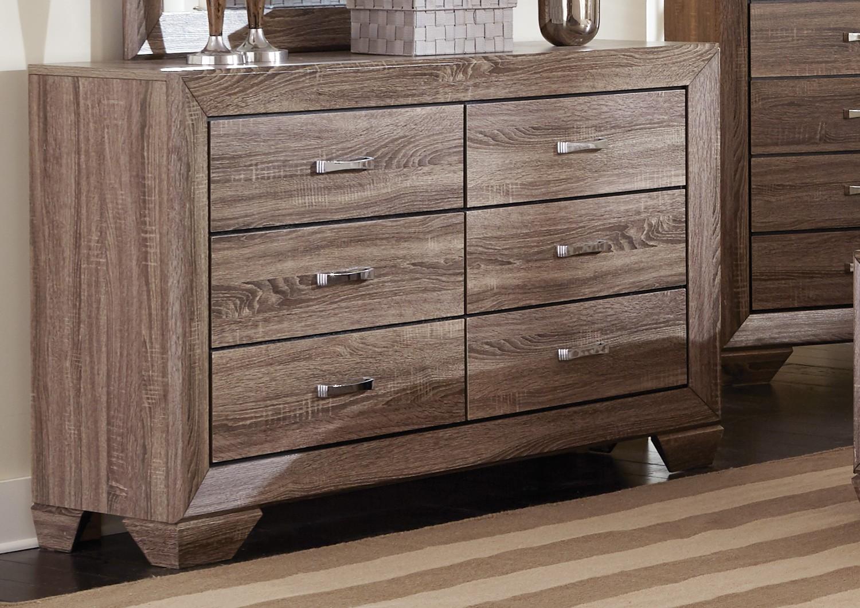 Coaster Kauffman Dresser - Washed Taupe