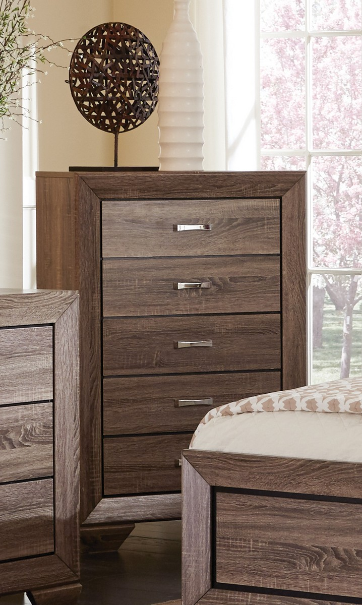 Coaster Kauffman Chest - Washed Taupe