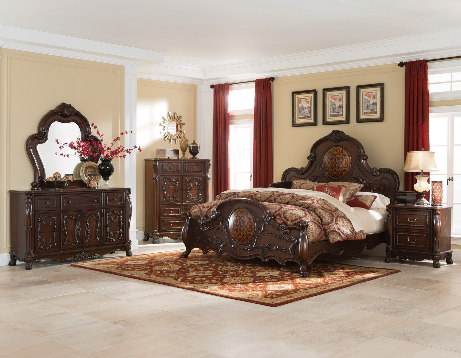 Coaster Abigail Bedroom Collection - Cherry