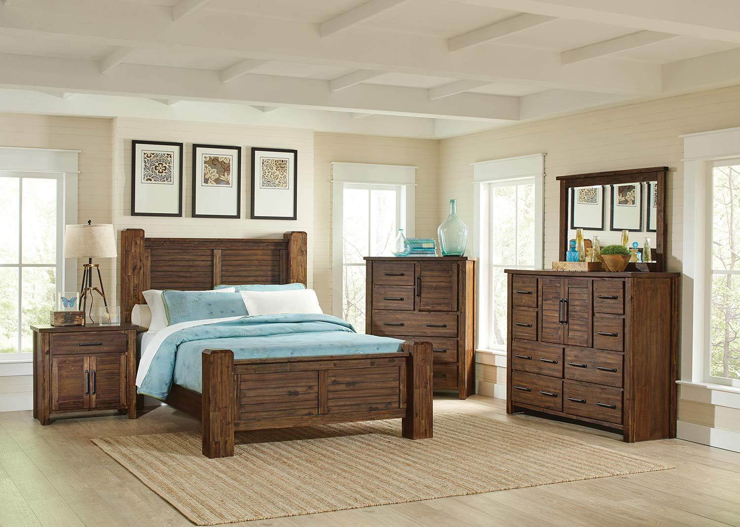Coaster Sutter Creek Bedroom Set - Vintage Bourbon