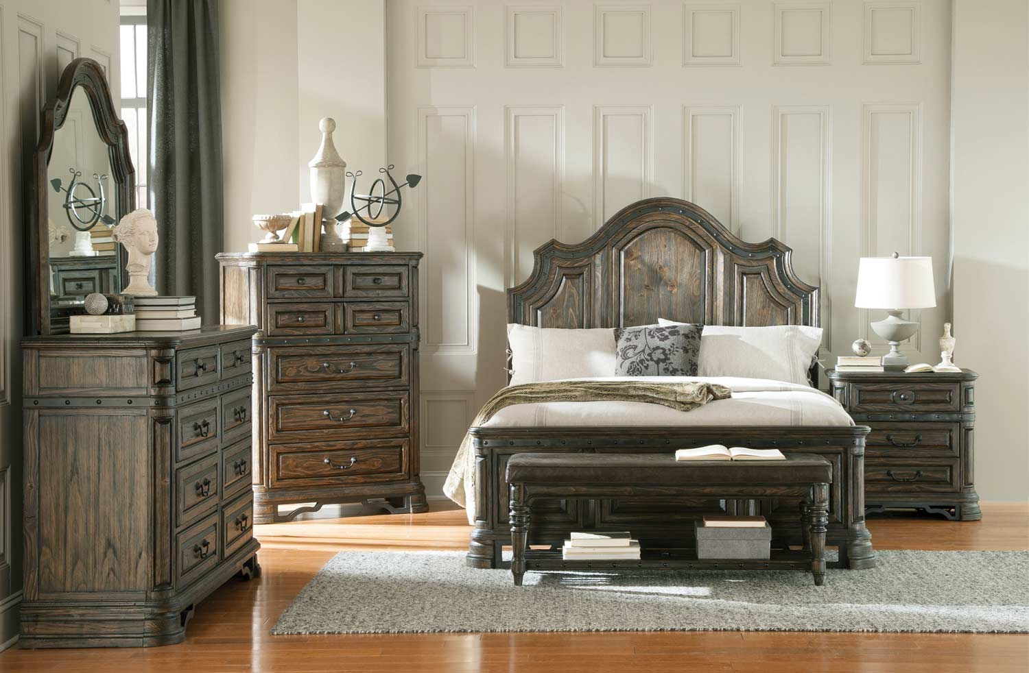 Coaster Carlsbad Bedroom Collection - Dark Brown