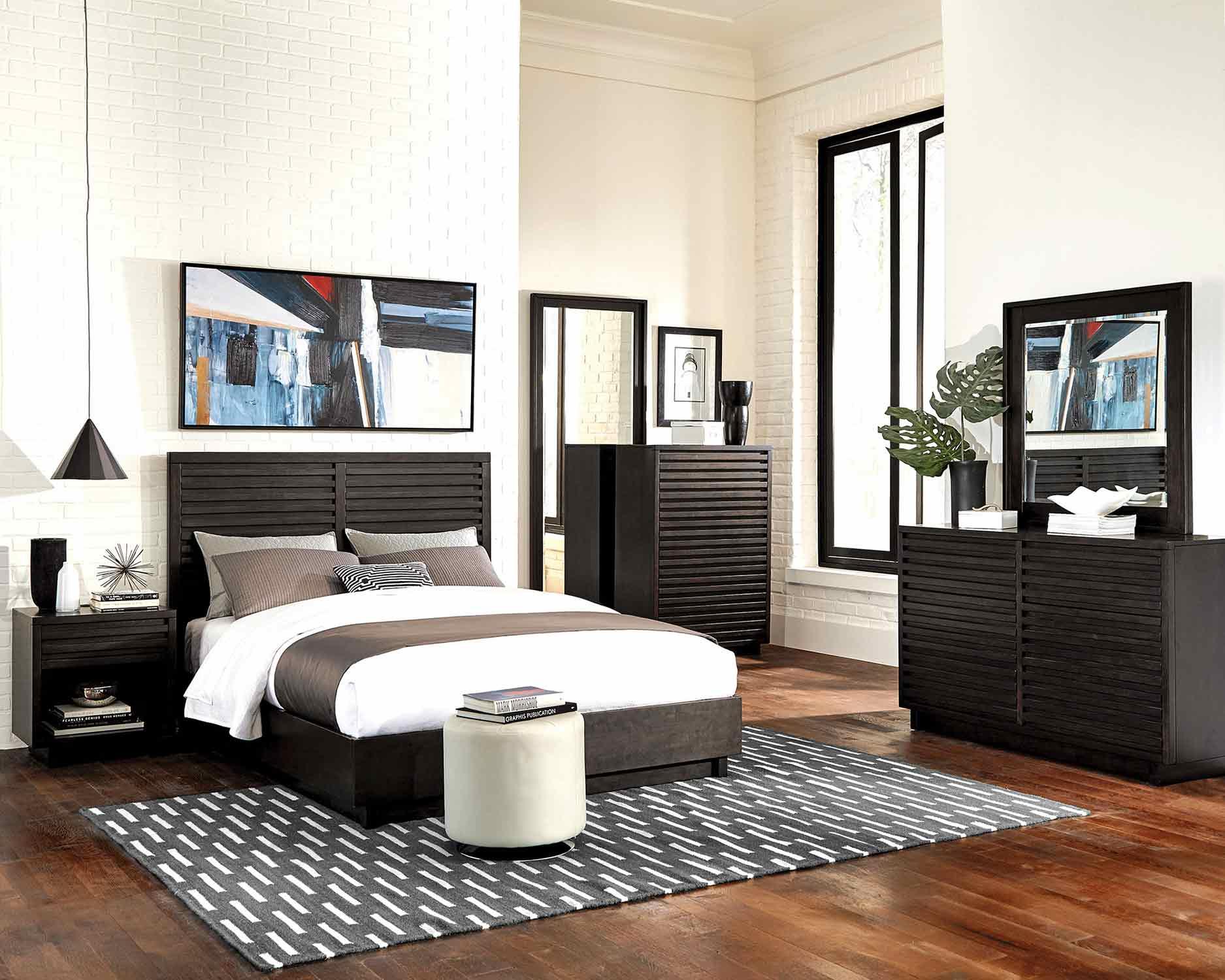 Coaster Matheson Bedroom Set - Graphite