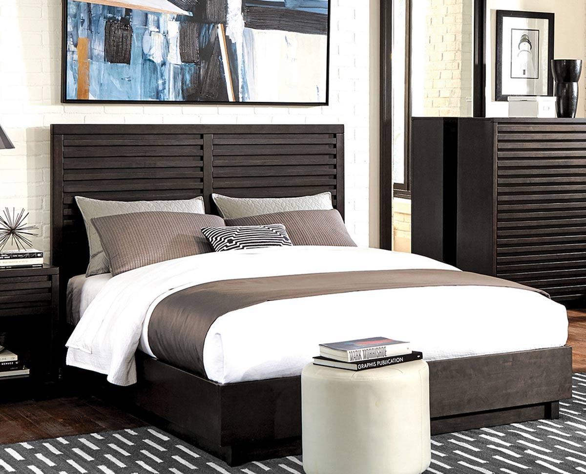 Coaster Matheson Bed - Graphite