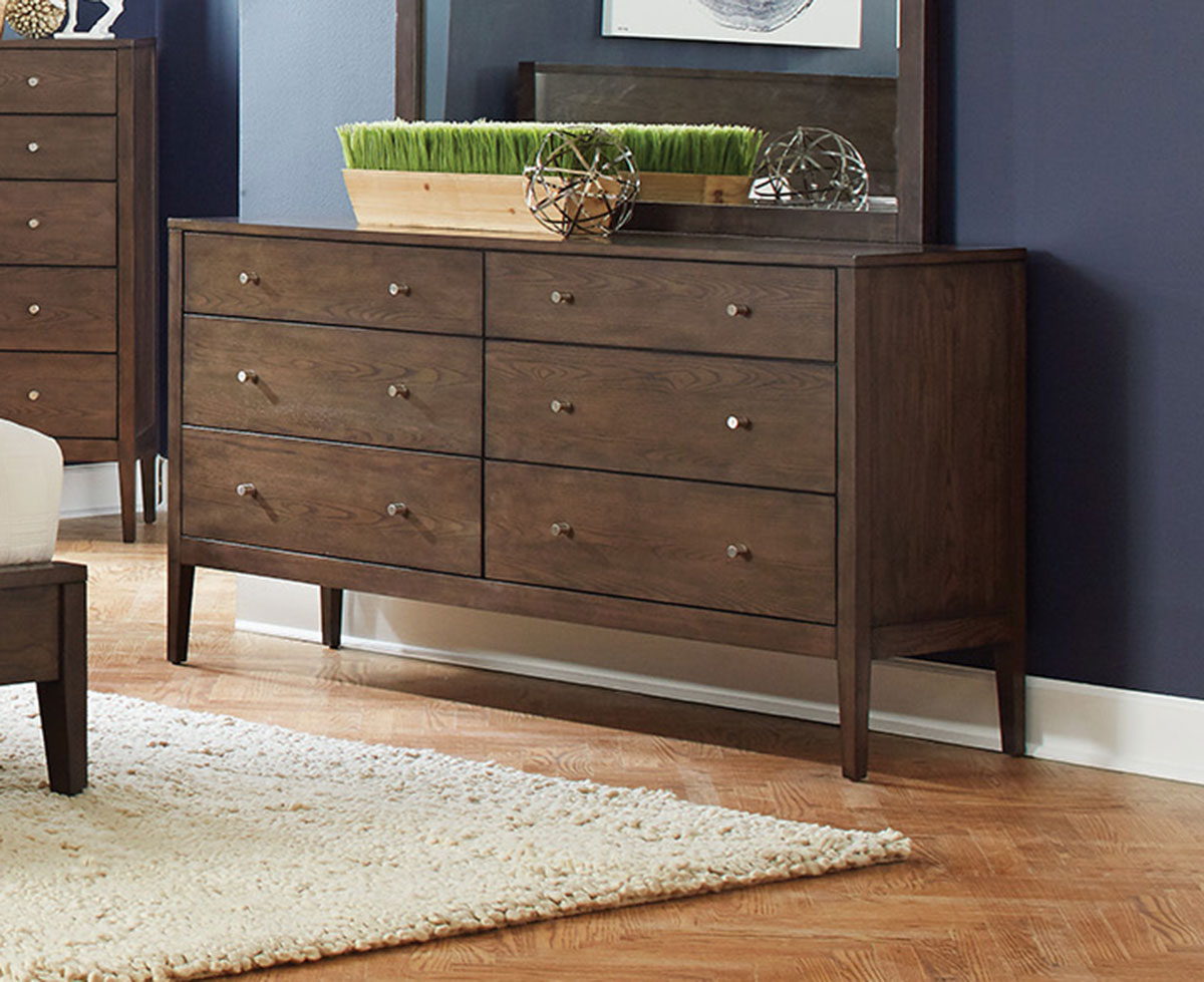 Coaster Lompoc Dresser - Ash Brown