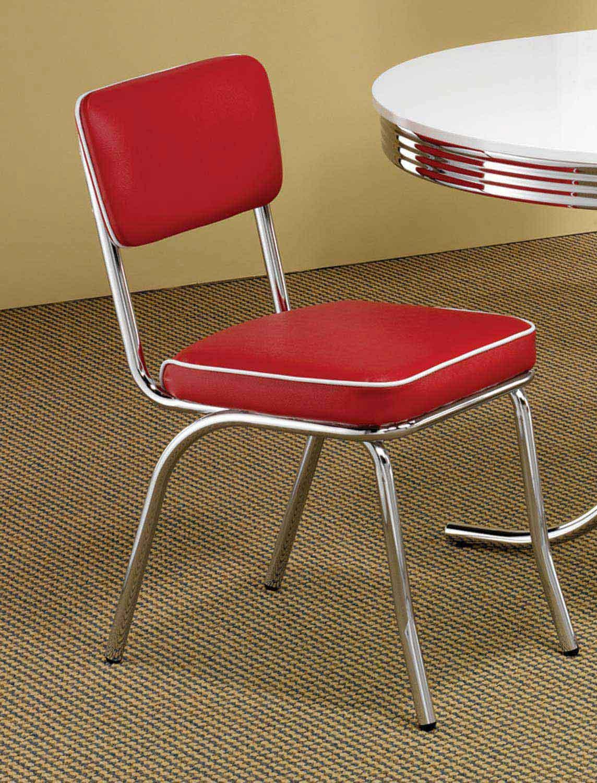 Coaster Mix & Match Chair - Red