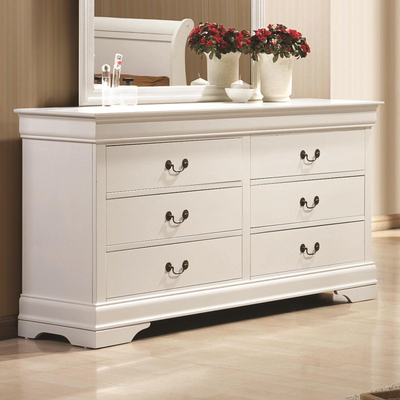 Coaster Louis Philippe Dresser - White