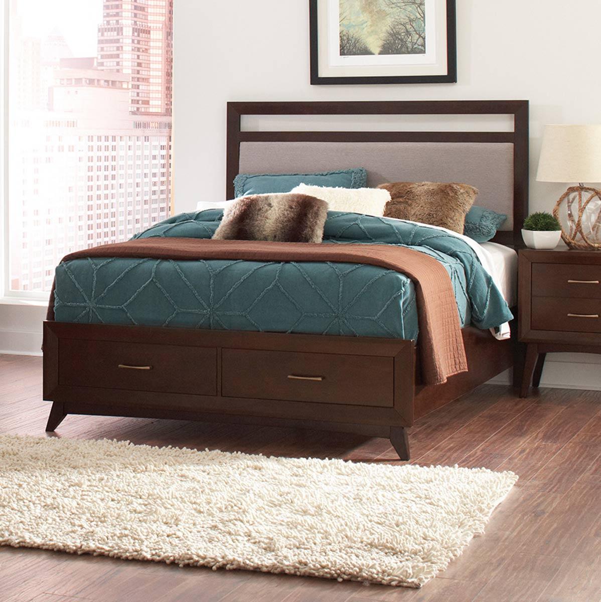 Coaster Carrington Bed - Coffee
