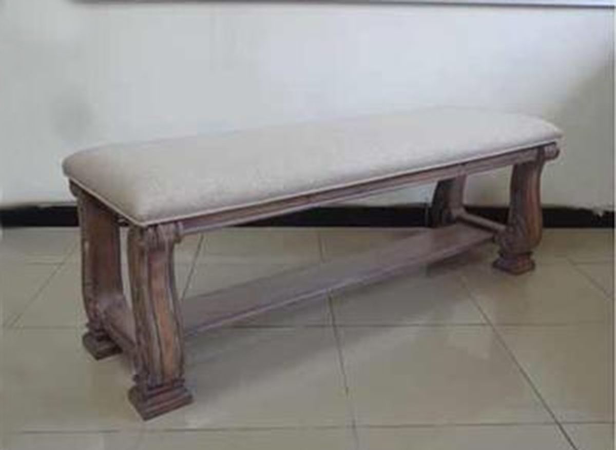 Coaster Ilana Bench - Antique Linen