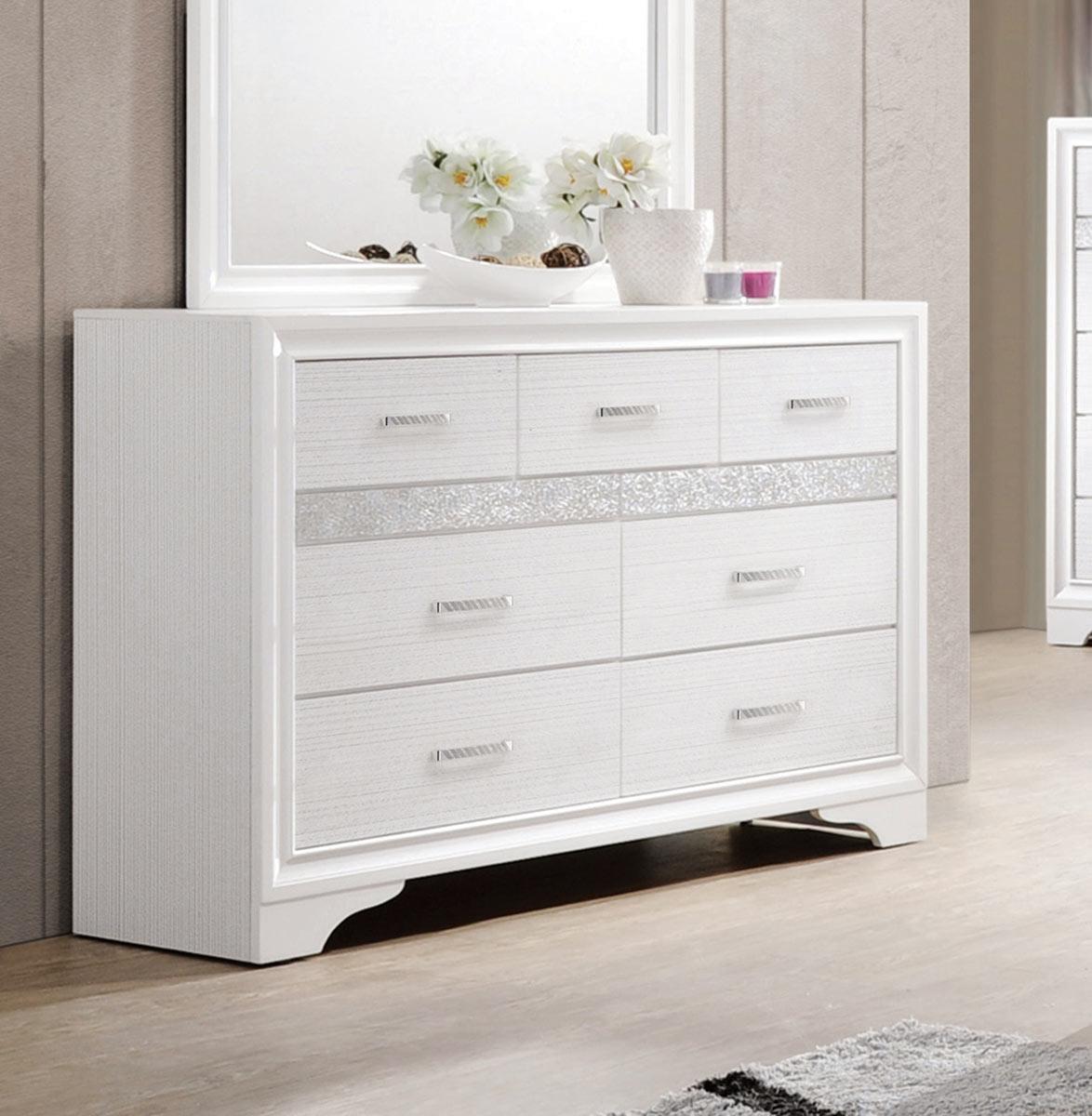 Coaster Miranda Dresser - White