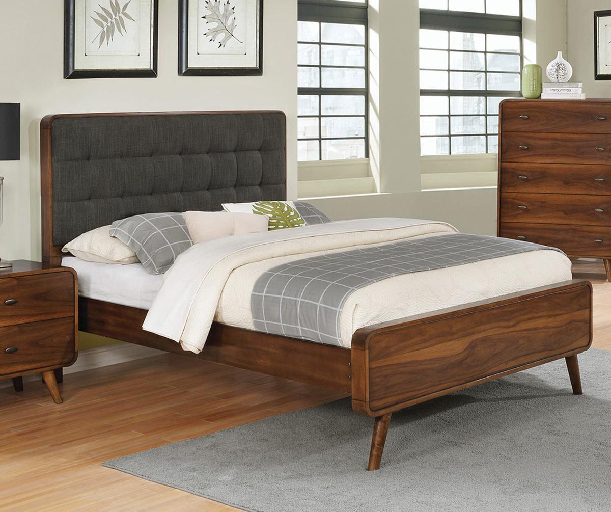 Coaster Robyn Bed - Dark Walnut